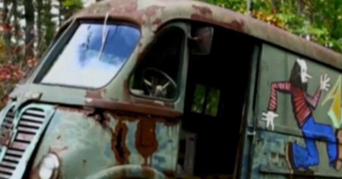 original aerosmith tour van found in small massachusetts town by