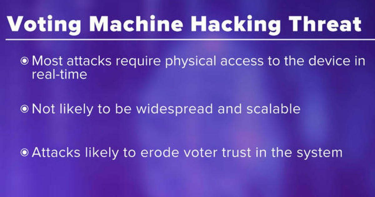 Concerns grow over cyberthreats during elections