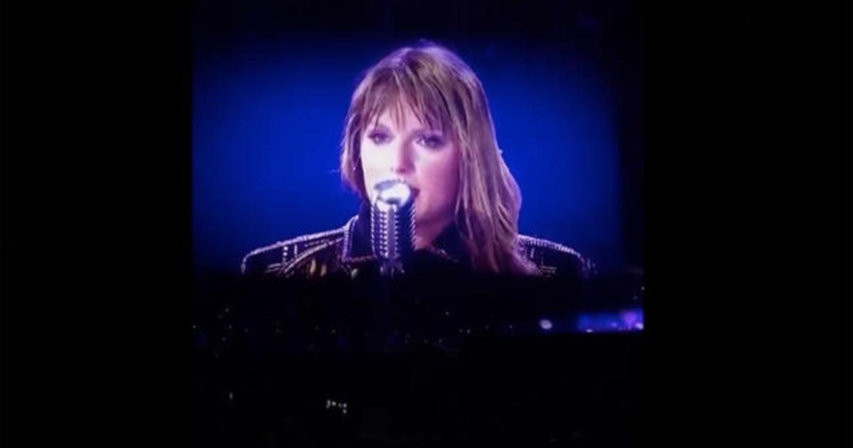 Taylor Swift addresses sexual assault during concert