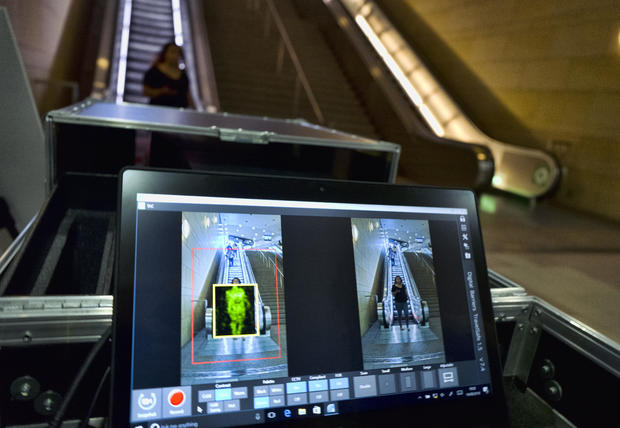 Subway Body Scanners
