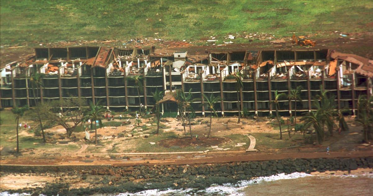 Hurricane Lane revives memories of 1992's Hurricane Iniki