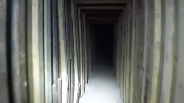 In the United States found the most unusual tunnel across the border