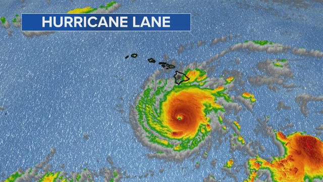 Hawaii: Hurricane Lane Category 3 latest updates, path