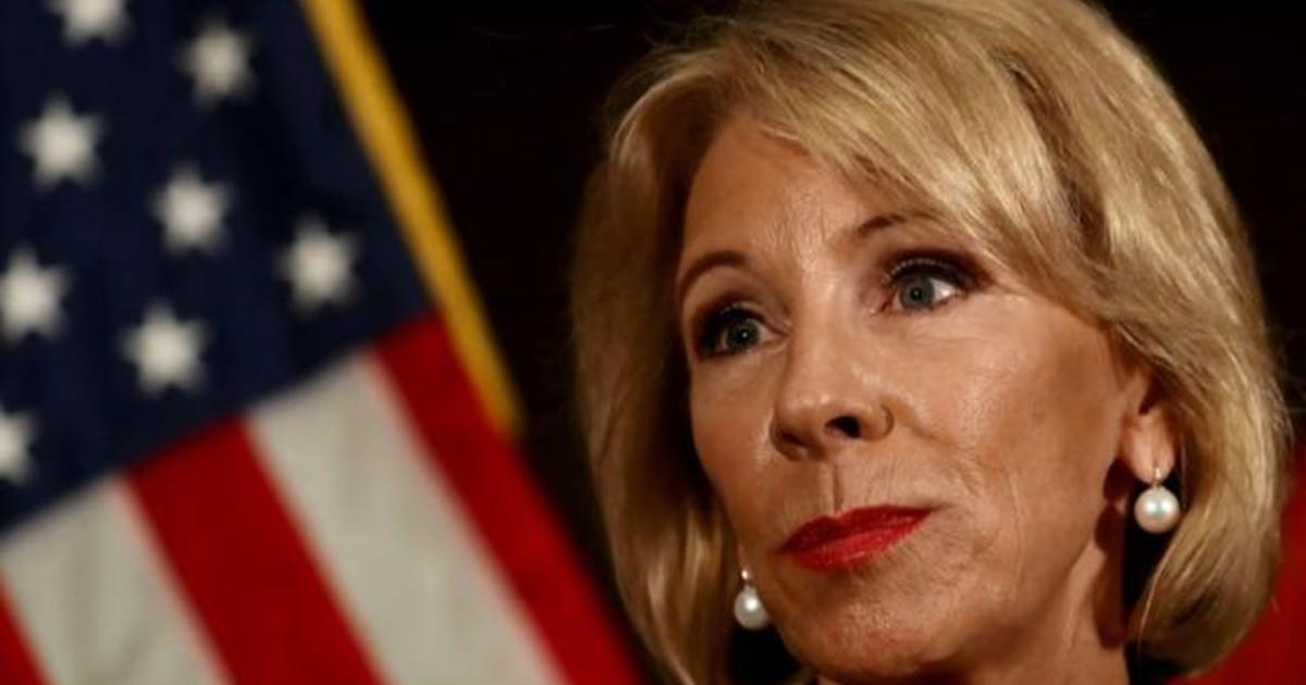 Recent Devos Hires Bode Ill For Student >> Report Education Dept Considering Using Federal Funds To