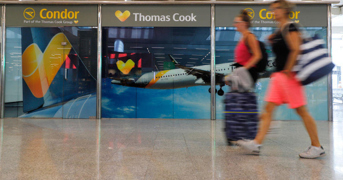 Tour operator Thomas Cook teetering on financial collapse