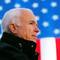 FILE PHOTO -  U.S. Republican presidential nominee Senator John McCain (R-AZ) speaks at a campaign rally in Defiance