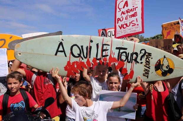 FRANCE-REUNION-SHARK-ATTACK-SURF-TOURISM-ACCIDENT