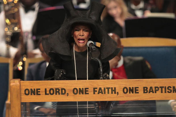 Aretha Franklin's funeral service