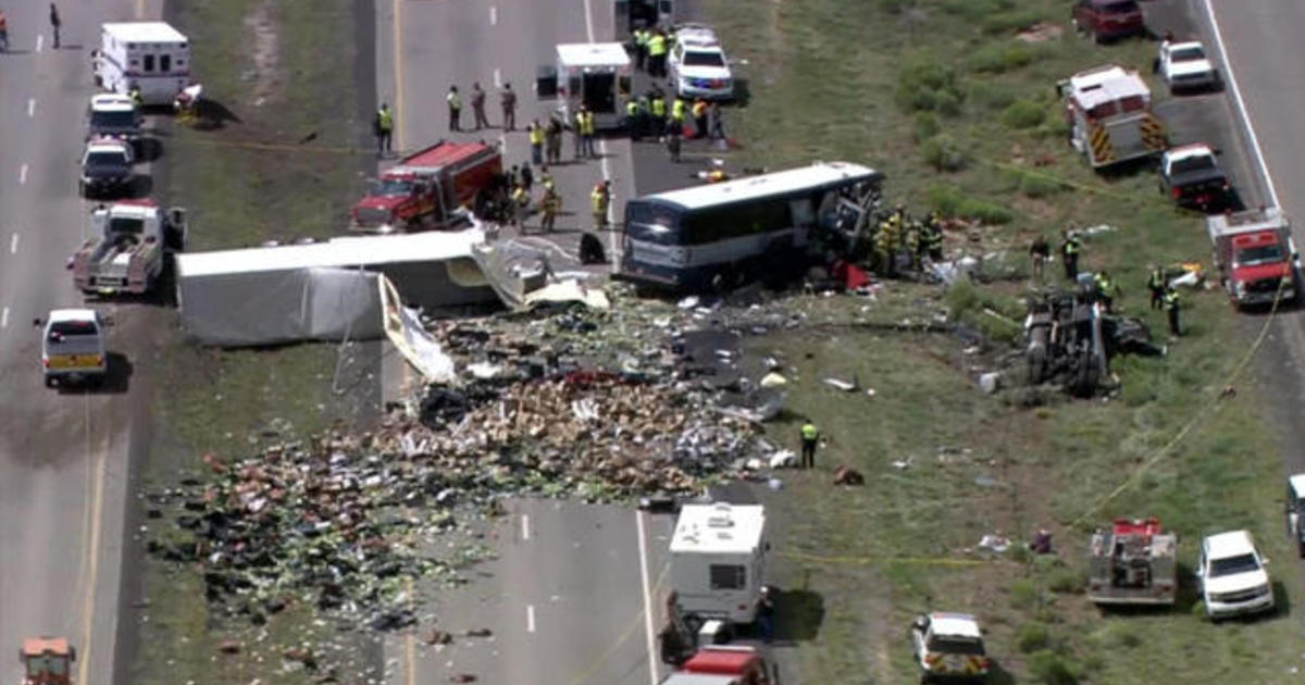 Survivor describes horror in New Mexico bus and semi-truck