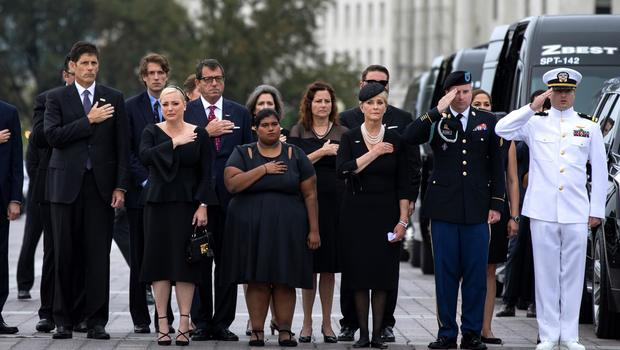 John McCain laid to rest