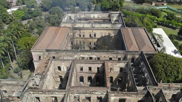 Brazil Rio Museum Fire