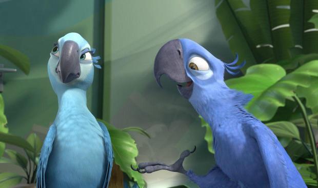Blue bird from 'Rio' now extinct in the wild