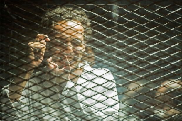 EGYPT-UNREST-TRIAL-PRESS