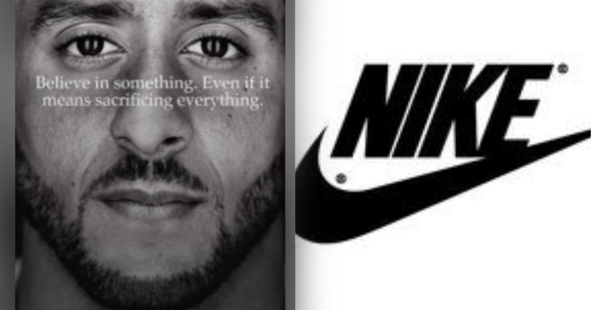 Nike Stock Price Reaches All Time High After Colin Kaepernick Ad Cbs News