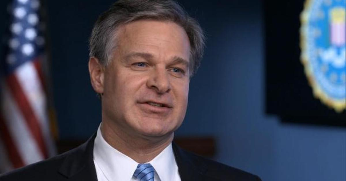 FBI Director Christopher Wray says China is agency's top counterintelligence priority