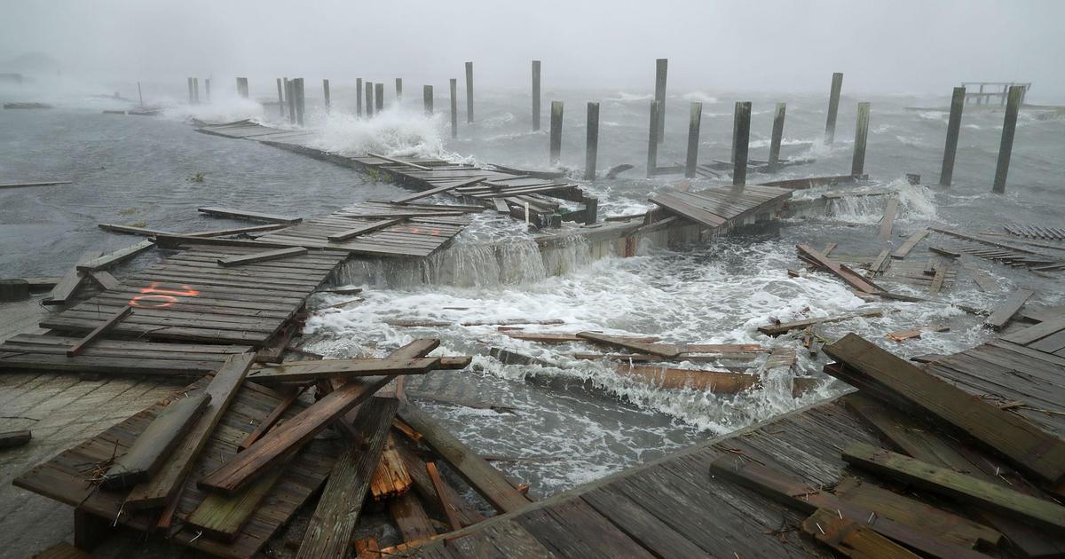 "Hasil gambar untuk ""Threat becomes a reality"": Hurricane Florence's onslaught begins"