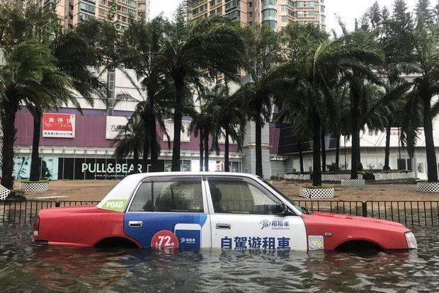 HONG KONG-CHINA-PHILIPPINES-TYPHOON-MANGKHUT