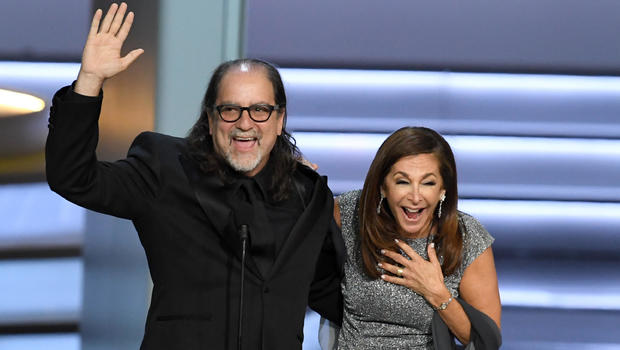 Oscars director Glenn Weiss proposes to girlfriend during Emmys acceptance speech