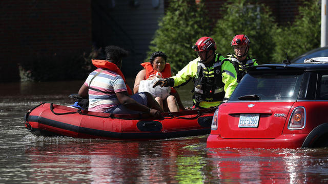 Carolinas' Coast Line Recovers From Hurricane Florence, As Storm Continues To Pour Heavy Rain On The States