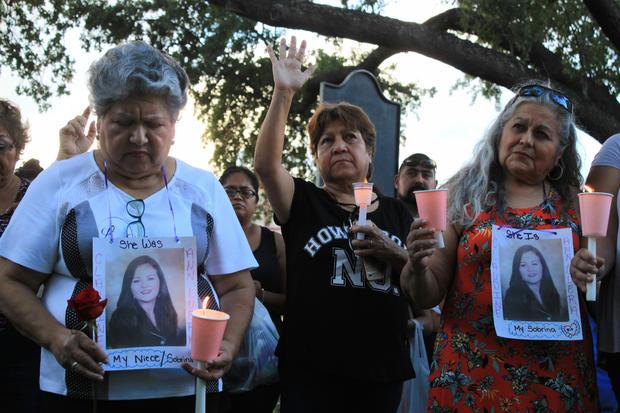 vigil for women killed by border patrol agent