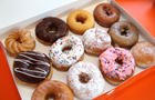 Dunkin' Donuts Santa Monica Grand Opening