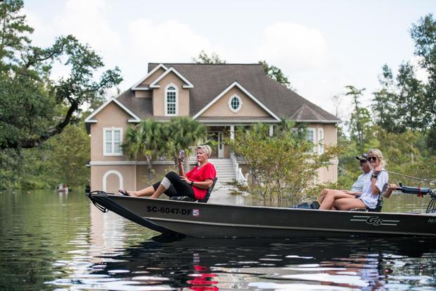 South Carolina Flooding Continues Over A Week After Florence Made Landfall