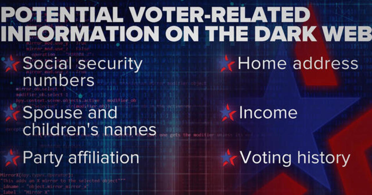 Using the dark web to influence elections
