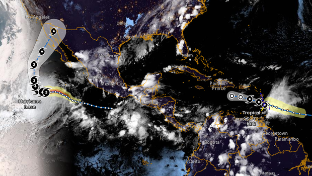 TS Kirk causes power outages, heavy flooding in Caribbean Latin America News