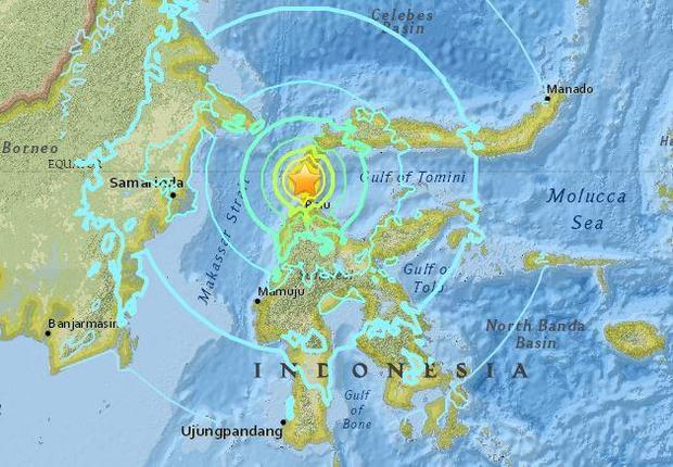Indonesia Earthquake Today Tsunami Occurs After 7 5 Magnitude Quake