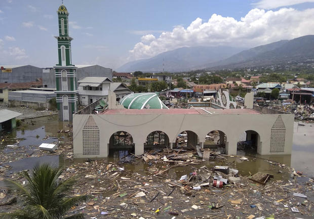 Devastating earthquake and tsunami strike Indonesia
