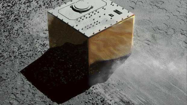 Touchdown! Japan space probe lands new robot on asteroid