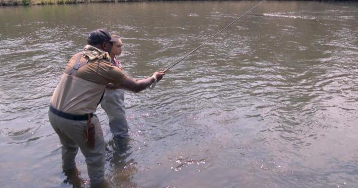Veteran discovers the healing power of fly fishing and passes it along to others