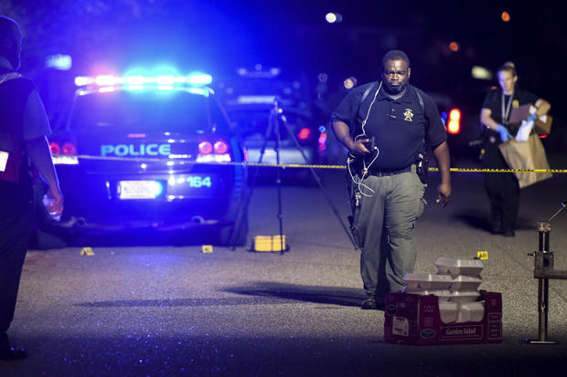 SC  officer killed, six wounded in shootout