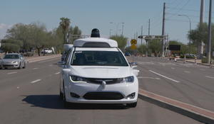Your first look inside the self-driving taxis poised for public use