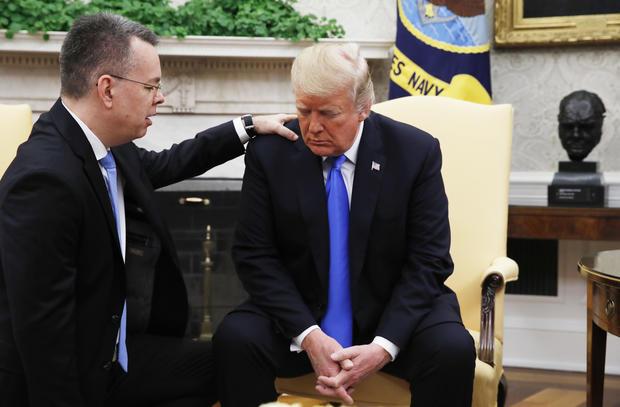 APTOPIX Trump American Pastor