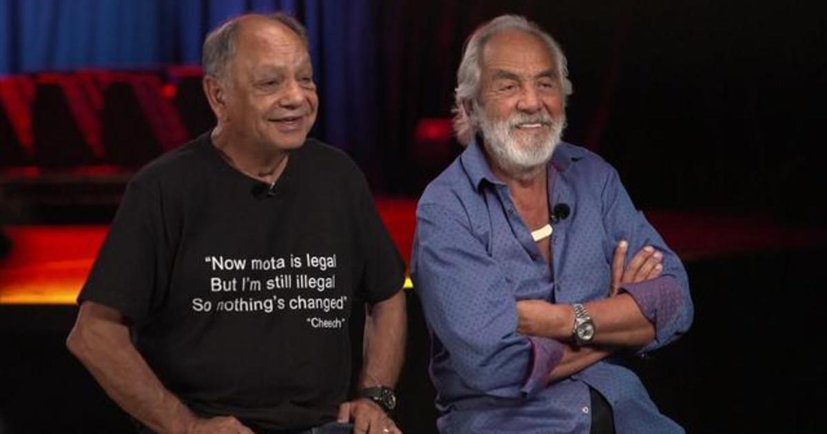 Cheech & Chong look back at a stoner classic