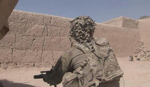 U.S. troops battle Taliban forces ahead of Afghan elections