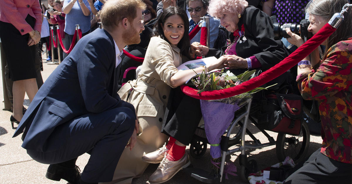 Royal baby news aside, Prince Harry and Meghan begin Australia tour in Sydney