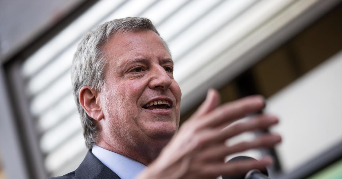 New York Mayor Bill de Blasio to announce presidential run
