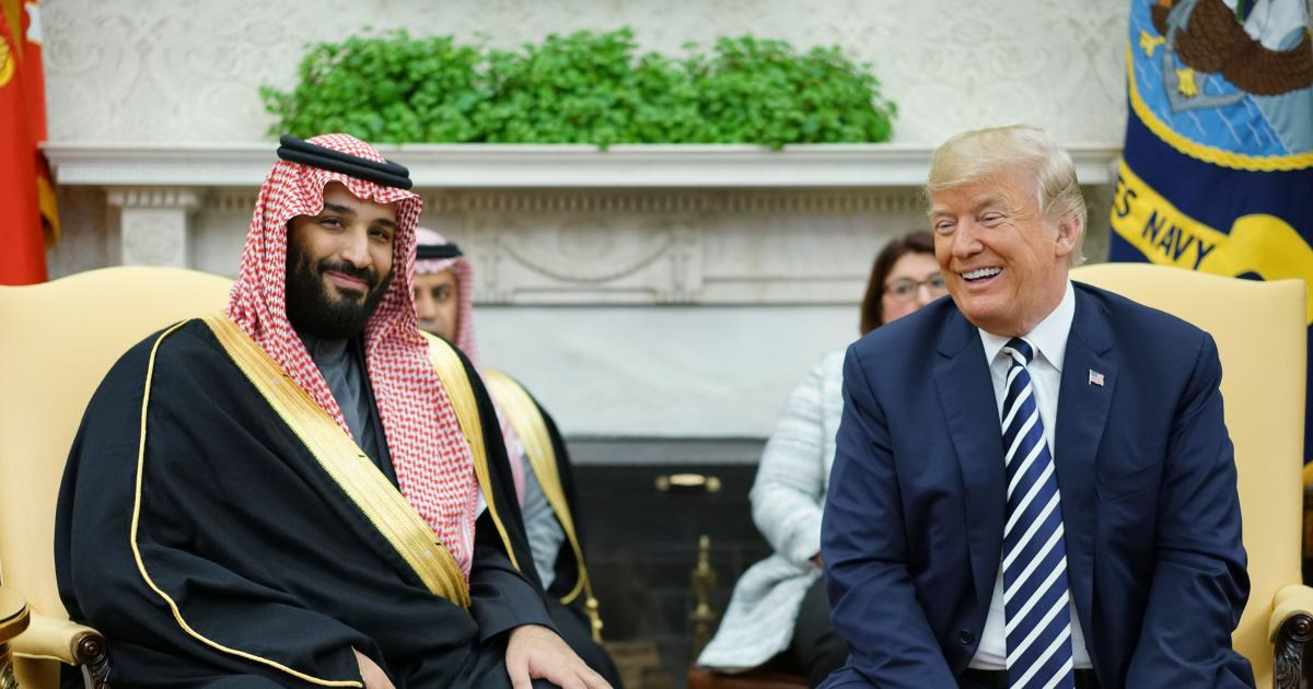 """Trump says allegations against Saudis are example of """"guilty until proven innocent"""""""