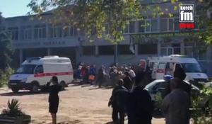 Suspected explosion in Crimea college kills at least 13