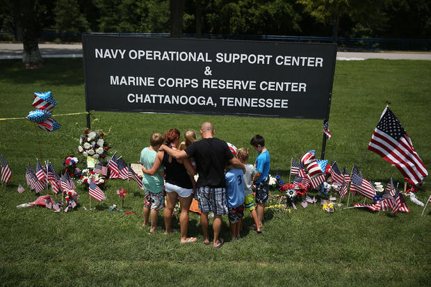 Four Marines and One Sailor Killed In Military Center Shootings In Chattanooga, Tennessee