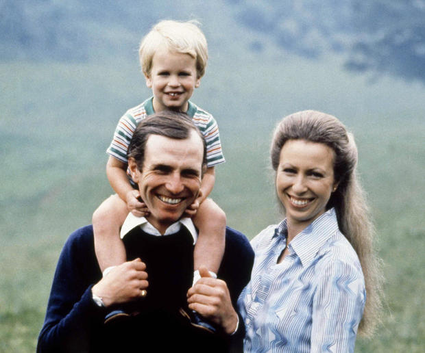 Princess Anne and family