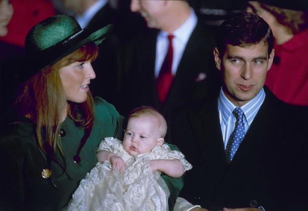 Prince Andrew, Duke of York Sarah Duchess of York  Daughter