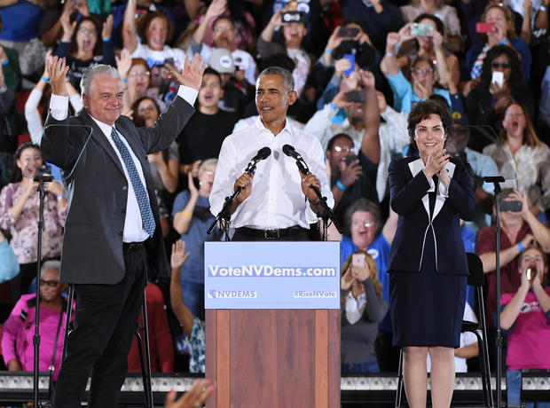 Barack Obama in Nevada