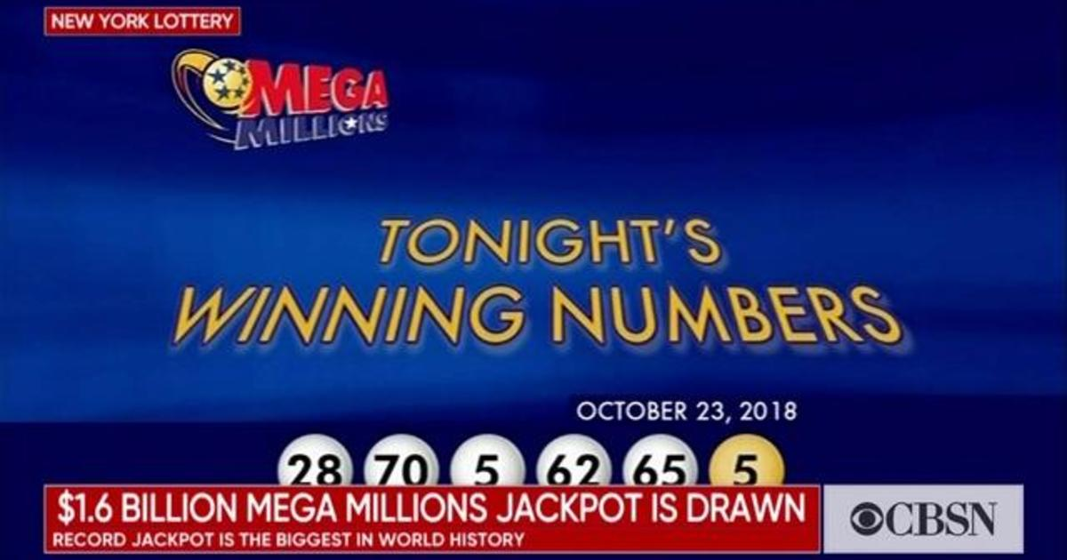 Mega Millions winning numbers drawn for record $1 6 billion