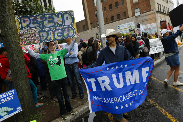 Acitvists Hold Rally Against President Trump's Decision To End DACA