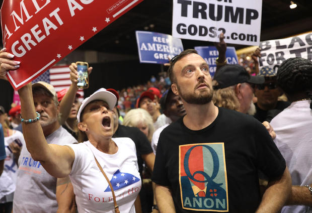 """Donald Trump Holds """"Make America Great Again"""" Rally In Tampa"""