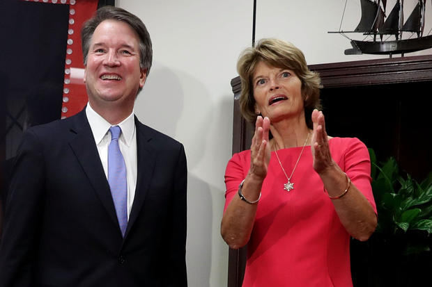 Supreme Court Justice Nominee Kavanaugh Meets With Senators On Capitol Hill