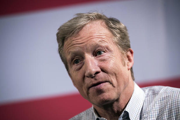 Tom Steyer Says He Won't Run For President In 2020